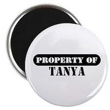 Property of Tanya Magnet