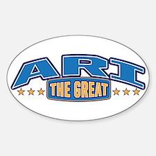 The Great Ari Decal