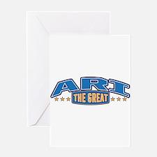The Great Ari Greeting Card