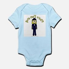 Light Airline Pilot Onesie