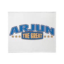 The Great Arjun Throw Blanket