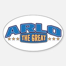 The Great Arlo Decal