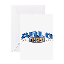 The Great Arlo Greeting Card