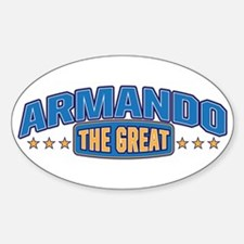 The Great Armando Decal