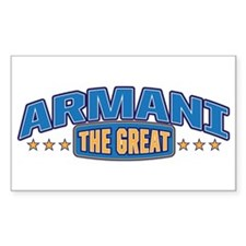 The Great Armani Decal
