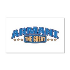 The Great Armani Car Magnet 20 x 12
