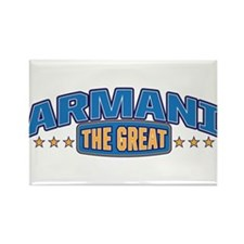 The Great Armani Rectangle Magnet