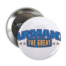 "The Great Armani 2.25"" Button"