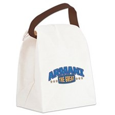 The Great Armani Canvas Lunch Bag
