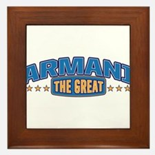 The Great Armani Framed Tile