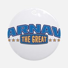 The Great Arnav Ornament (Round)