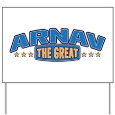 The Great Arnav Yard Sign