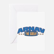 The Great Arnav Greeting Card