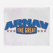 The Great Arnav Throw Blanket