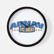 The Great Arnav Wall Clock