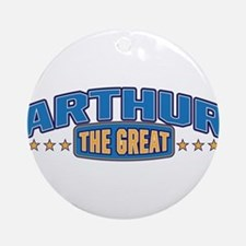 The Great Arthur Ornament (Round)