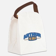 The Great Arthur Canvas Lunch Bag
