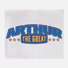 The Great Arthur Throw Blanket
