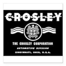CROSLEY Automobiles, 1939-1942. Square Car Magnet