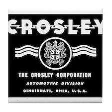 CROSLEY Automobiles, 1939-1942. Tile Coaster