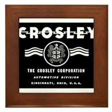 CROSLEY Automobiles, 1939-1942. Framed Tile