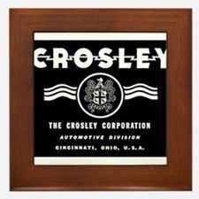 CROSLEY Automobiles, 1939-1942. Framed Tile