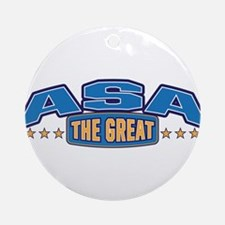 The Great Asa Ornament (Round)