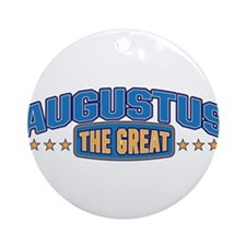 The Great Augustus Ornament (Round)