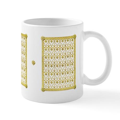 """Gold Filigree"" Mug"