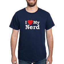 I Love My Nerd T-Shirt