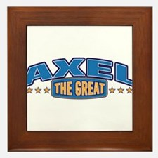 The Great Axel Framed Tile