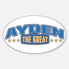 The Great Ayden Decal