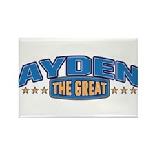 The Great Ayden Rectangle Magnet