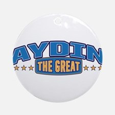The Great Aydin Ornament (Round)
