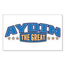 The Great Aydin Decal