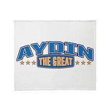The Great Aydin Throw Blanket