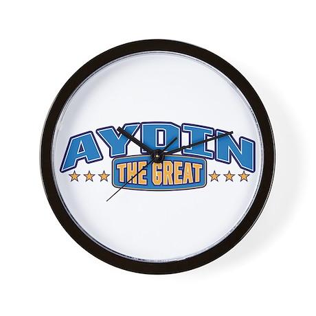 The Great Aydin Wall Clock