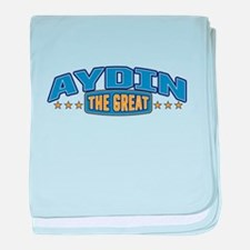 The Great Aydin baby blanket