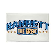 The Great Barrett Rectangle Magnet