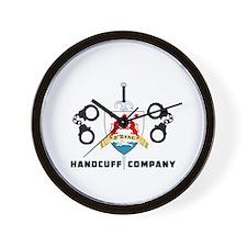 ONeal Handcuff Company Wall Clock