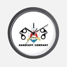 ONeal Handcuff Company Wall Clock