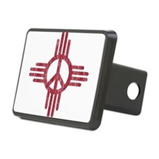 New Mexico Peace Sign Hitch Cover