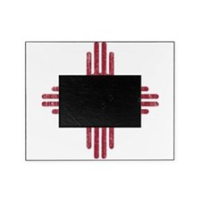 New Mexico Peace Sign Picture Frame