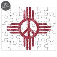 New Mexico Peace Sign Puzzle