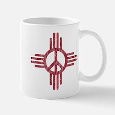 New Mexico Peace Sign Mug