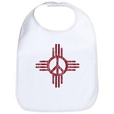 New Mexico Peace Sign Bib