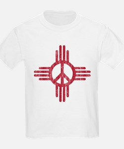 New Mexico Peace Sign T-Shirt