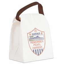 Remember Pearl Harbor Canvas Lunch Bag