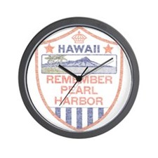 Remember Pearl Harbor Wall Clock