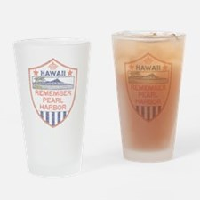 Remember Pearl Harbor Drinking Glass